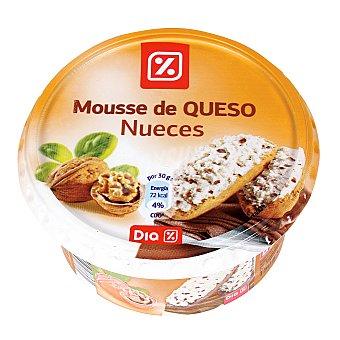 DIA Mousse de queso con nueces tarrina 150 gr Tarrina 150 gr