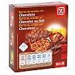 Barritas de cereales muesli con chocolate estuche 150 gr 6 barritas (150 g) DIA