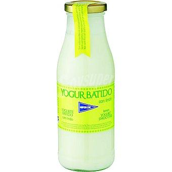 HIPERCOR yogur líquido batido con limón envase 500 g