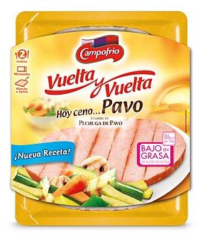 Campofrio Cuida-t+ Vuelta y vuelta de pavo Bandeja 190 g