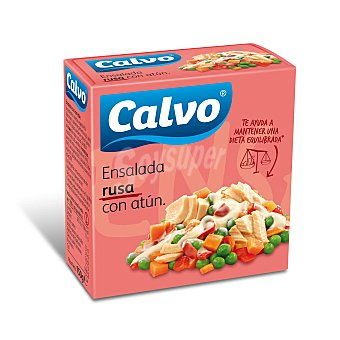 Calvo Ensalada de atún rusa Lata 130 grs
