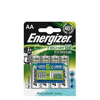 Energizer Pilas Recargables Aa Hr06 Extreme 2300 Mah Pack de 4