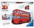 Puzzle 3D con 216 piezas London Bus ravensburger Night edition  Ravensburger