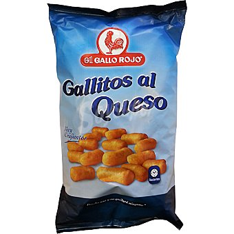 El Gallo Rojo Snack Gallitos al queso Bolsa 175 g