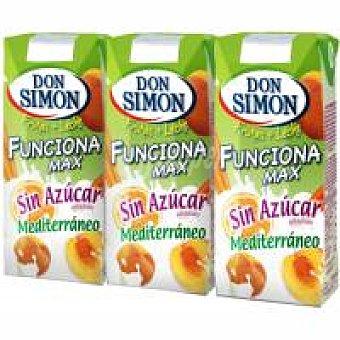 Don Simón Lactozumo Mediterráneo sin azúcar Pack 6x200 ml