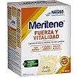 Fuerza y Vitalidad batido sabor vainilla caja para la sensación de debilidad muscular y fatiga en general 15 sobres de 30 g Meritene