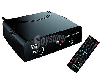 AQUARIUS AURA Sintonizador TDT conexión euroconector y puerto USB reproductor y grabador