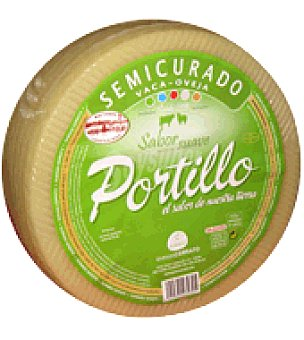 Cerrato Queso semicurado etiqueta verde Portillo 3000.0 g.