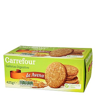 Carrefour Galleta digestive avena 425 g