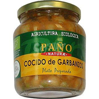 Paño Naturae Ecológico cocido de garbanzos Tarro 330 g