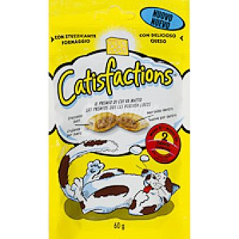 CATISFACTION Snack de queso Paquete 60 g