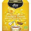 Té energía detox 21,6 g Yogi Tea