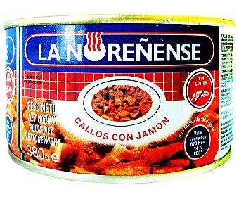 LA NOREÑENSE Callos con jamón a la asturiana  lata 380 g neto escurrido