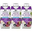 Lactozumo de frutas del bosque Pack 3x330 ml Zü Premium