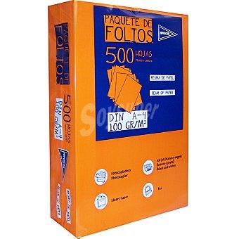 Hipercor Paquete de folios DIN A4 500 hojas 100 g