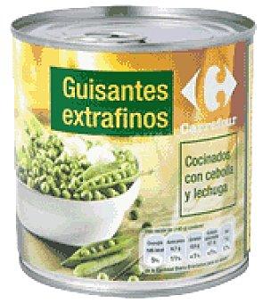 Carrefour Guisantes extrafinos con cebolla y lechuga 280 g