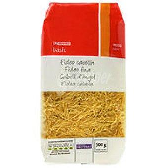 Eroski Basic Fideo cabellín Paquete 500 g