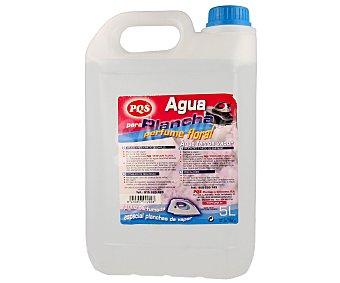 Pqs Agua de plancha con perfume floral 5 litros