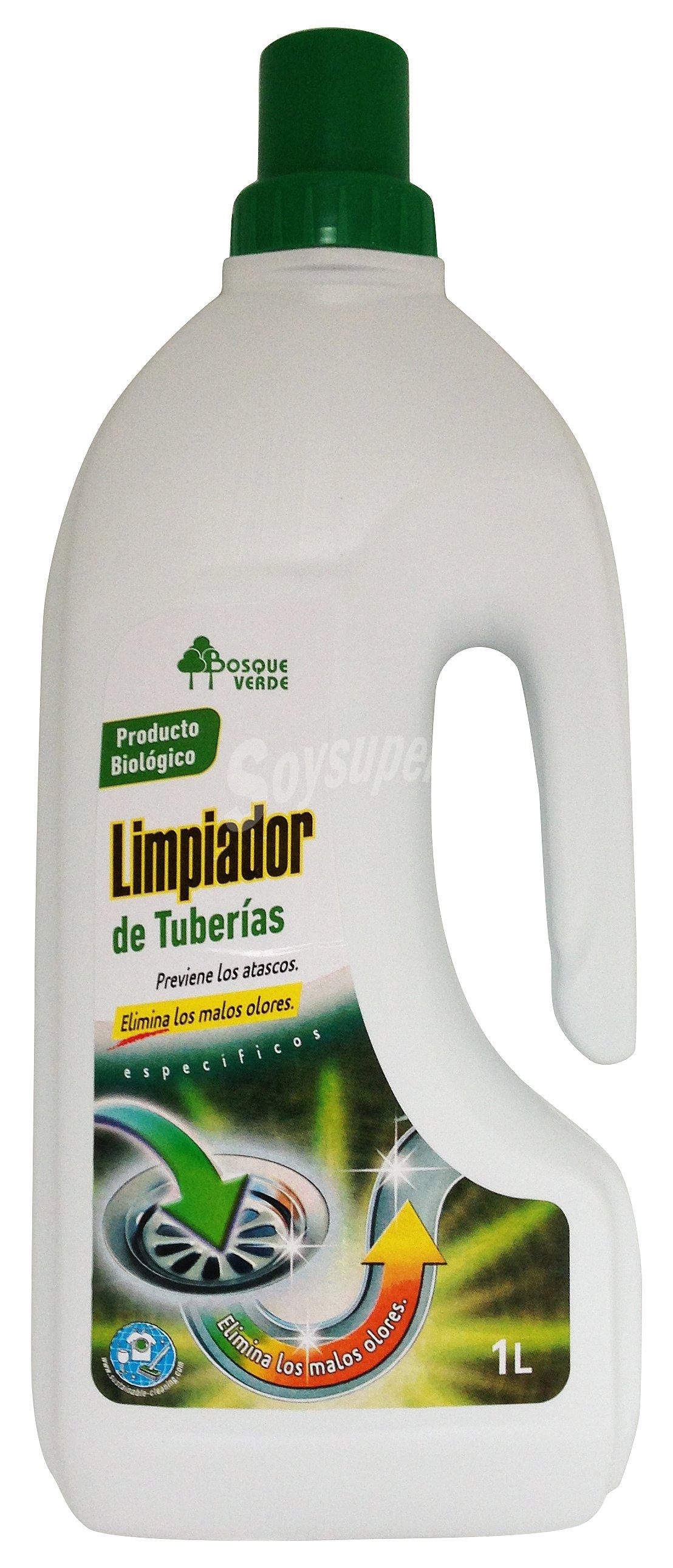 Limpiador Baño Bosque Verde:Bosque Verde Limpiador tuberias (eliminador DE olores) (botella blanca