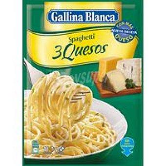 Gallina Blanca Spaguetti con salsa 3 quesos Sobre 184 g