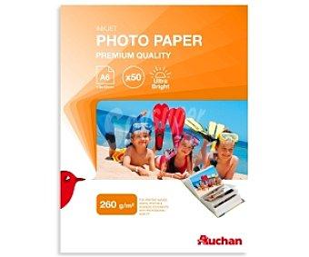 Auchan Papel Foto High Glossy A6 260 Gramos 260 Gramos