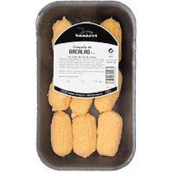 Basarri Croquetas de bacalao Bandeja 315 g