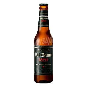 Voll-damm Extra doble malta cerveza rubia nacional botella 33 cl Botella 33 cl