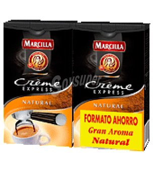 Marcilla Café marcilla creme express natural molido pack de 2x250 g