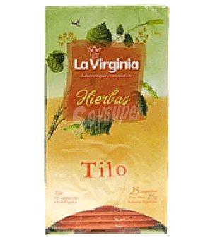La Virginia Tilo en saquitos 25 ud