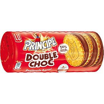LU PRINCIPE Double Choc Galletas rellenas de chocolate Paquete 185 g