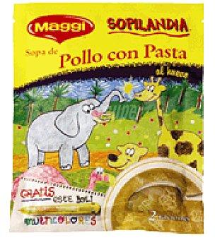 Maggi Sopa de pollo con pasta deshidratada. 50 g