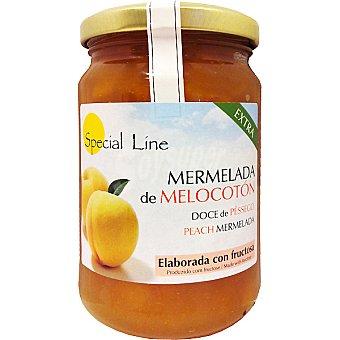 Special Line Mermelada extra de melocotón con fructosa sin gluten sin azúcar añadido Envase 345 g