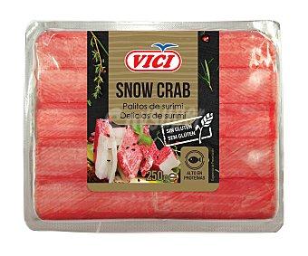 Vici Surimi palitos Snow Crab premium sin gluten 250 g