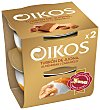 Yogur griego con turrón de Jijona, almendras y caramelo Pack 2 u x 115 g Oikos Danone