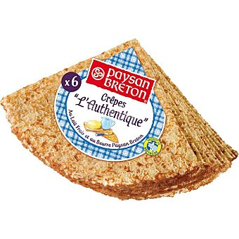Paysan Breton Crepes 6 unidades Envase 185 g