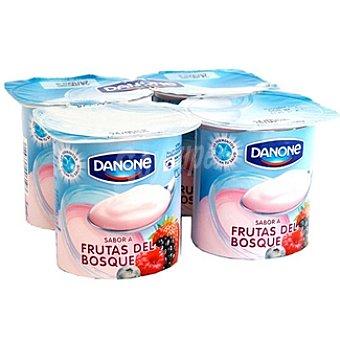 Danone Yogurt sabores frutas del bosque Pack de 4x125 g