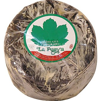 La Fueya Queso azul con hojas peso aproximado pieza 25 kg