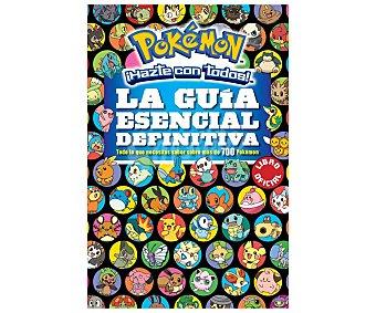 VIDEOJUEGOS Pokémon, ¡hazte con todos!, La guía esencial definitiva, VV. AA. Género: juvenil, videojuegos. Editorial Montena. Descuento ya incluido en PVP. PVP anterior: