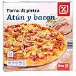 Pizza atún y bacon caja 400 gr 400 gr DIA