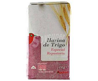 Auchan Harina de trigo especial repostería 1 kg