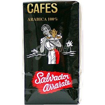 CAFENASA SALVADOR ARRASATE Café natural en grano 100% arábica paquete 500 g