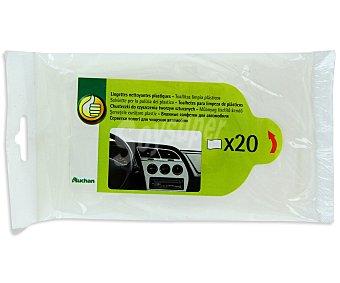 Productos Económicos Alcampo Paquete de 20 toallitas limpiasalpicaderos alcampo