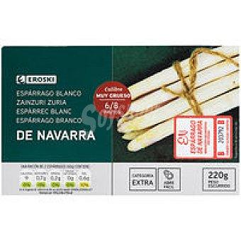 D.O. Navarra 6/8 piezas EROSKI Espárrago extra Lata 220 g