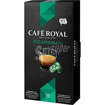 Royal Café descafeinado 10 ud