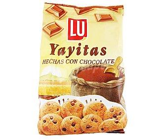 Yayitas Lu Galletas con chocolate 250 gramos