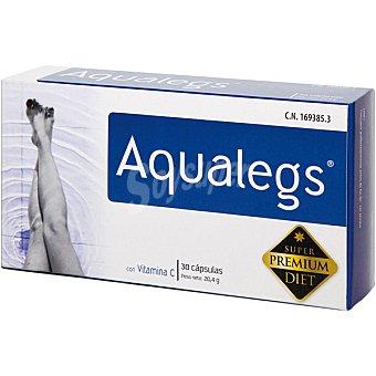 NC Aqualegs tonifica los capilares sanguíneos y linfáticos, y mejora la circulación ápsulas Caja 30 c