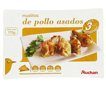 Auchan Muslitos de Pollo Asados 175 Gramos