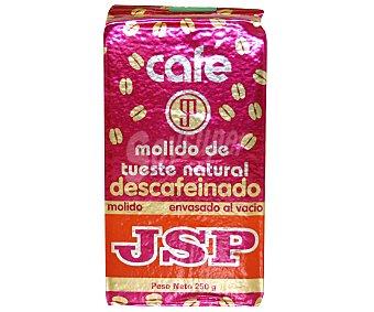 Jsp Café Molido Natural Descafeinado 250 Gramos