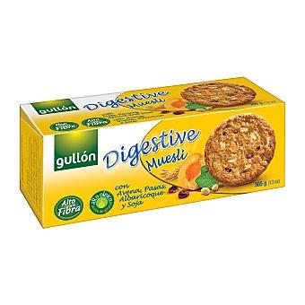 Gullón Galleta digestive muesli Paquete de 365 g