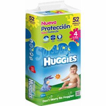 Huggies Pañal Jumbo Talla 4 Paquete 52 unid